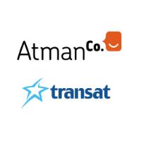 Logos de AtmanCo et Transat