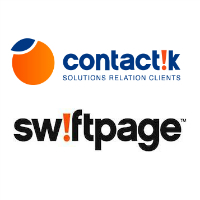Logos de Contactik et Swiftpage