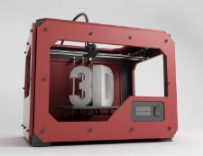 Illustration du concept d'impression en 3D