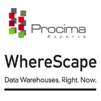 Logos de Procima Experts et de WhereScape