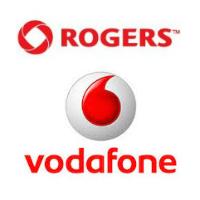 Logos de Rogers et Vodafone