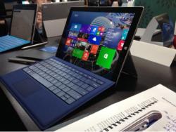 La tablette numérique Surface Pro 3 de Microsoft
