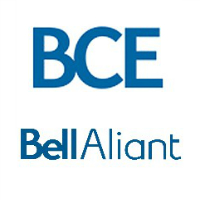Logos de BCE et de Bell Aliant