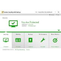Capture d'écran de Norton Security with Backup