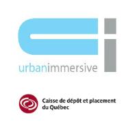 Logos d'Urbanimmersive et de la Caisse de dépôt