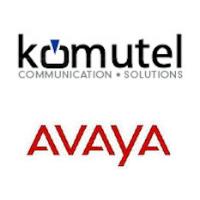 Logos de Komutel et Avaya