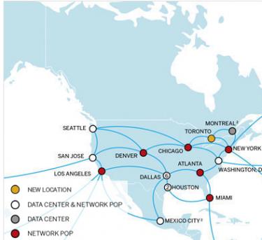 Illustration du projet de centre de données SoftLayer à Montréal