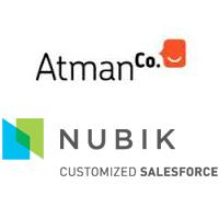 Logos d'AtmanCo et Nubik