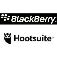 Logos de Blackberry et Hootsuite