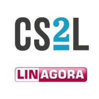 Logos de CS2L et LINAGORA