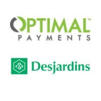 Logos de Paiements Optimal et Desjardins