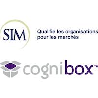Logos de SIM et Cognibox