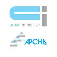Logos d'UrbanImmersive et de l'APCHQ