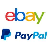 Logos d'eBay et PayPal