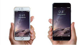 Les téléphones intelligents iPhone 6 et iPhone 6 Plus d'Apple