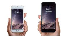 Les téléphones intelligents Iphone 6 et iPhone 6 Plus d'Apple