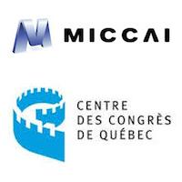 Logos de MICCAI et du Centre des congrès de Québec