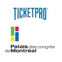Logos de Ticketpro Canada et de Palais des congrès de Montréal