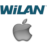 Logos de WiLan et Apple