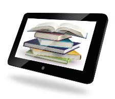 Illustration du concept de formation et d'apprentissage au moyen de la technologie