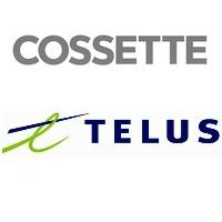 Logos de Cossette et TELUS