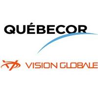 Logos de Québecor et Vision Globale