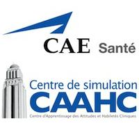 Logos de CAE Santé et du CAAHC