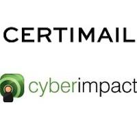 Logos de Certimail et Cyberimpact