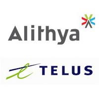 Logos d'Alithya et TELUS