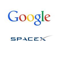 Logos de Google et SpaceX