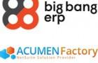 Big Bang ERP fusionne avec Acumen Factory