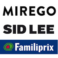 Logos de Mirego, Sid Lee et Familiprix
