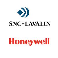 Logos de SNC-Lavalin et Honeywell
