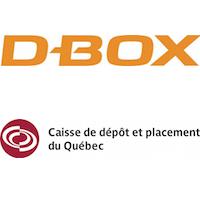 D-Box et Caisse de dépôt et placement du Québec