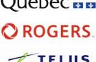 Mobilité : contrat de six à dix ans pour Québec auprès de Rogers et Telus