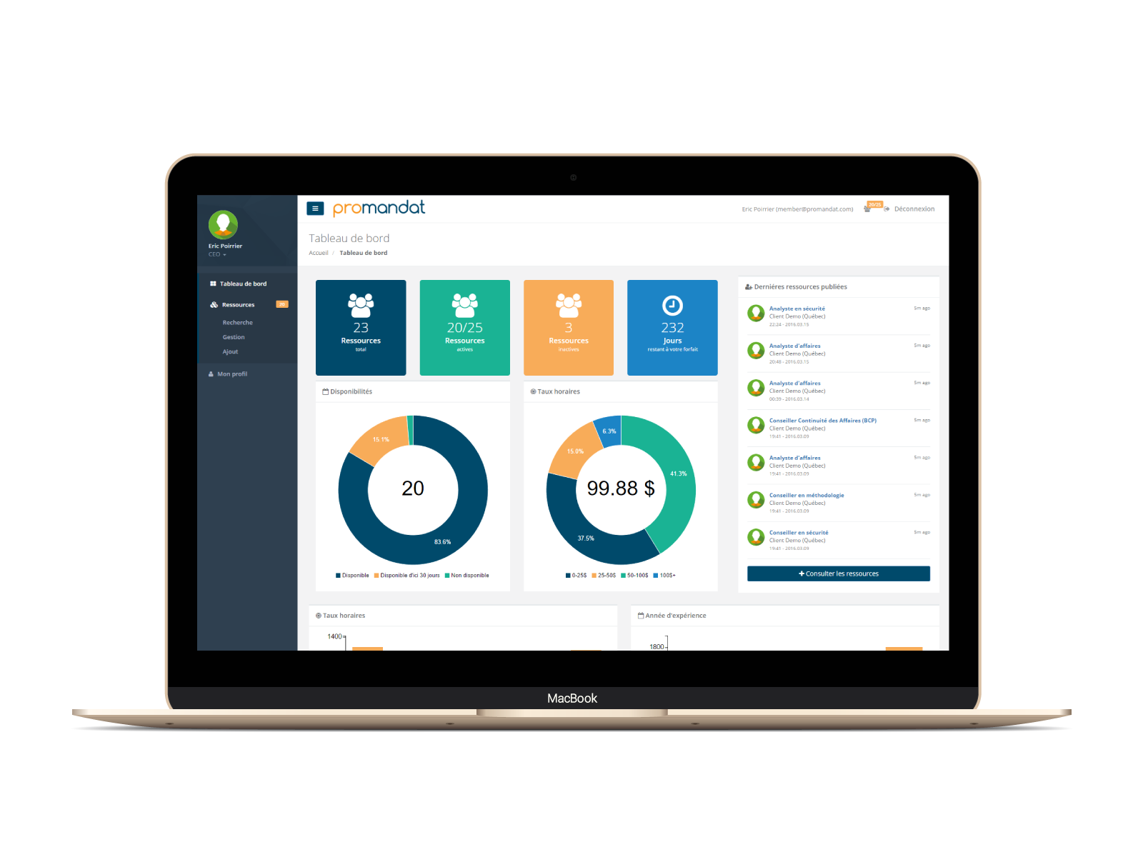 Une plateforme pour mettre en relation les consultants en TI et les entreprises