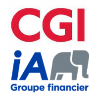 CGI, iA Groupe financier