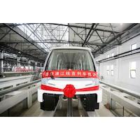 Bombardier livre une première navette sans conducteur à Shanghai