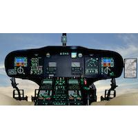 CAE, hélicoptère, simulateur