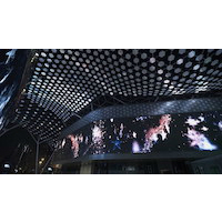 Installation immersive de Float4 à Dubaï