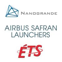 Entente entre Nanogrande, l'ÉTS et Airbus Safran