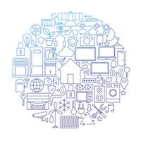 Maison connectée, Internet des objets