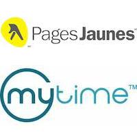 Contrat de licence entre Pages Jaunes et MyTime