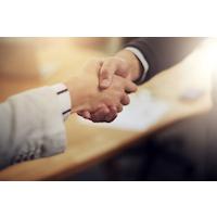 Poignée de main, recrutement, embauche, placement