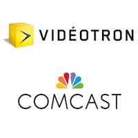 Vidéotron, Comcast