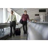 Aéroport, objets connectés