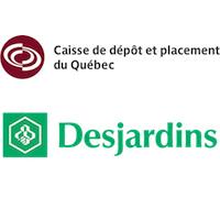 Caisse de dépôt et placement du Québec, Desjardins