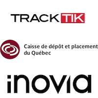 TrackTik, Caisse de dépôt et placement du Québec, iNovia Capital
