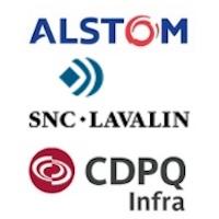 Alstom, SNC-Lavalin, CDPQ Infra