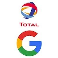 Pétrole et gaz: partenariat entre Total et Google